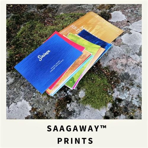 Saagaway ™ Prints-tuotteet itseoivalluksen tueksi avaamaan uusia näkökulmia mieltäsi askarruttaviin kysymyksiin