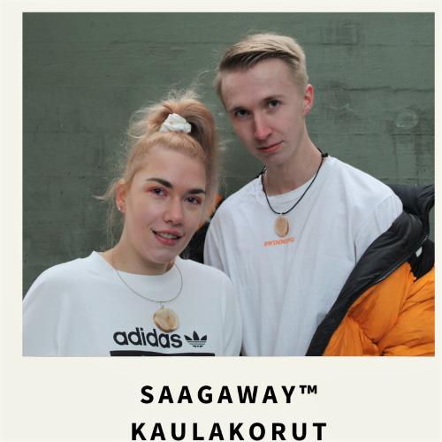Saagaway ™ kotimaisena käsityönä valmistetut puukorut